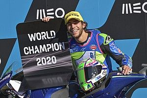 Bastianini Kenang Momen Juara Dunia Moto2 2020