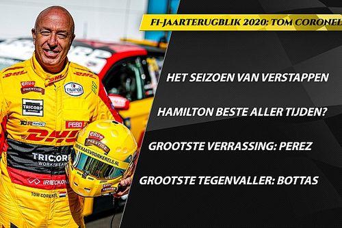 F1-jaarterugblik Coronel: Verstappen gegroeid, Hamilton beste ooit