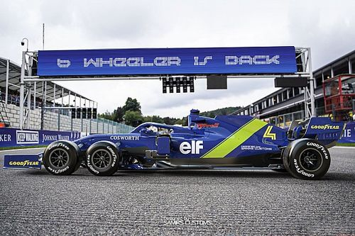 Дизайнер нарисовал шестиколесный Tyrrell для современной Ф1