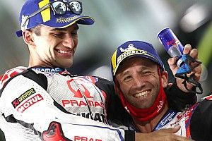 Martín n'a pas voulu compromettre la 2e place de Zarco