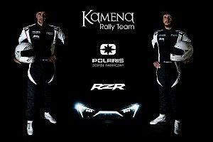 Kamena Rally Team w fabrycznym Polarisie