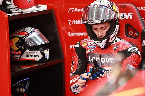 "Dovizioso: ""Suzuki non sente differenze di gomme? Impossibile"""