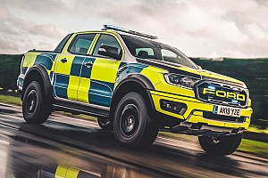 Ford Ranger Raptor, el nuevo juguete de la policía galesa