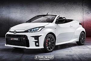 Áll-leejtően jól nézne ki a Toyota GR Yaris kabrió változatban