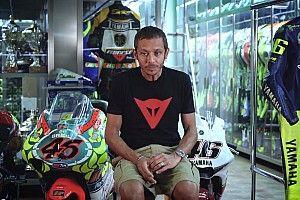 """La stanza nascosta di Valentino Rossi: """"Questo è il mio museo segreto"""""""