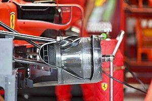 GALERÍA: detalles técnicos de los F1 para el GP de Brasil