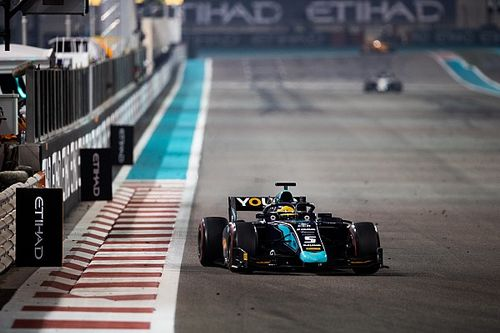 Abu Dhabi F2: Sette Camara fights back to win Race 1