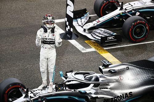 """Hamilton sinds Duitse GP weer op pole: """"Hebben nooit opgegeven"""""""
