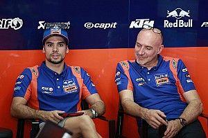 Oliveira cede al dolore: il weekend di Sepang è finito per lui