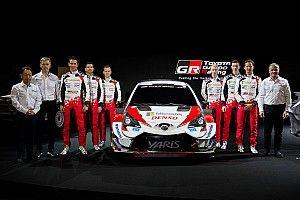 Toyota présente sa WRC version 2020