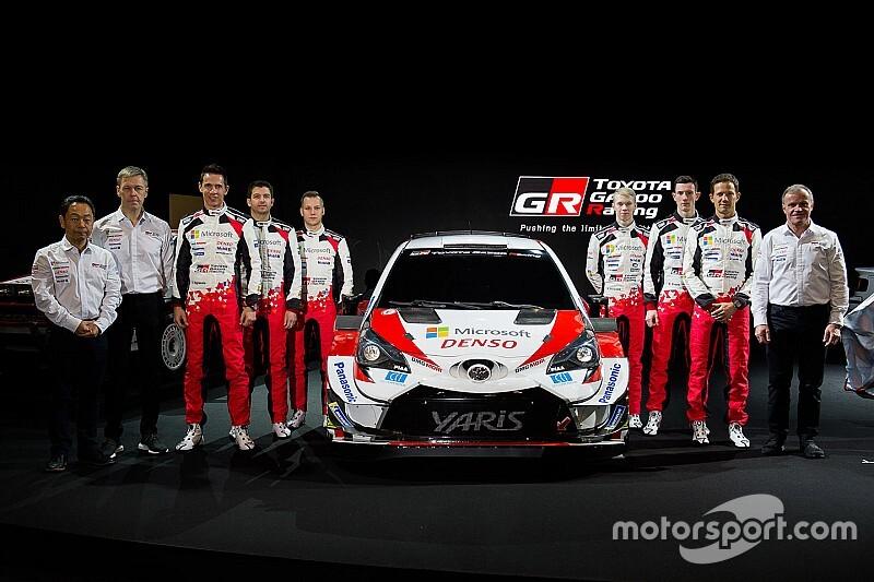 Toyota показала Yaris для нового сезона WRC