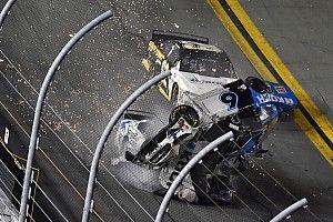 VIDEO: Newman crasht in laatste ronde van Daytona 500