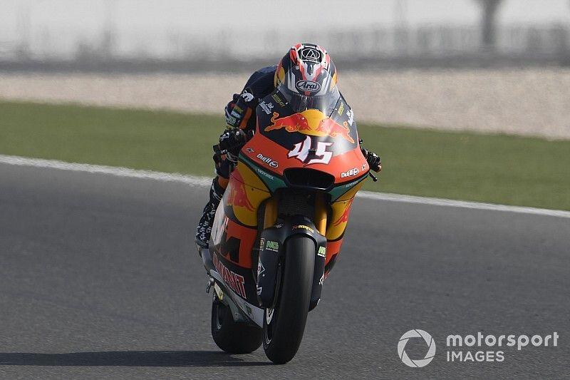 Moto2, Losail, Warm-Up: Nagashima al top, Bezzecchi quinto