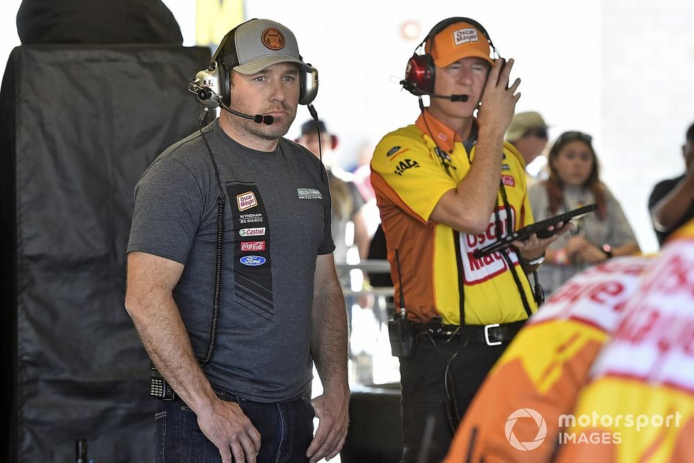 Newman expects to return to racing when NASCAR resumes