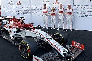 Alfa Romeo lança modelo de 2020 em busca de crescimento na F1