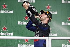 """トロロッソ代表、初表彰台獲得のガスリーは「""""円熟""""したドライビングだった」と称賛"""