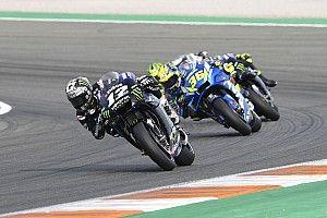 Yamaha-rijders geplaagd door problemen met grip