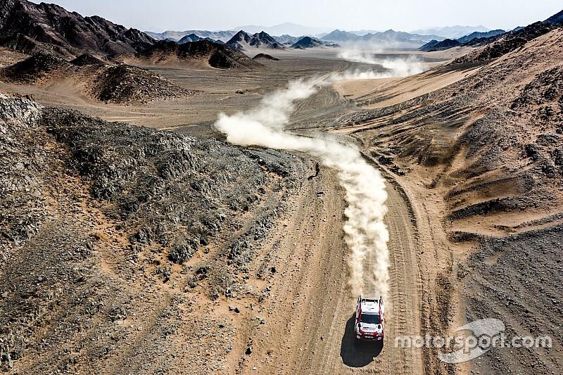 Rally Ula Neom, Alonso alza l'asticella: 3° nella penultima tappa