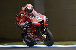 Rain forecasts hampering Dovizioso's Motegi victory bid