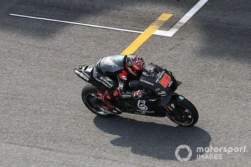 Quartararo también marca la pauta el segundo día en Sepang, con la Yamaha de 2020