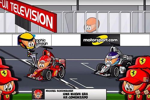 Vídeo MiniVintage: el histórico GP de Japón para Schumacher y Ferrari