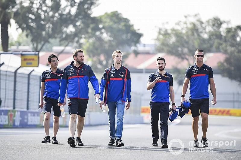"""México debe ser """"una prioridad"""" para la F1, dice Kvyat"""