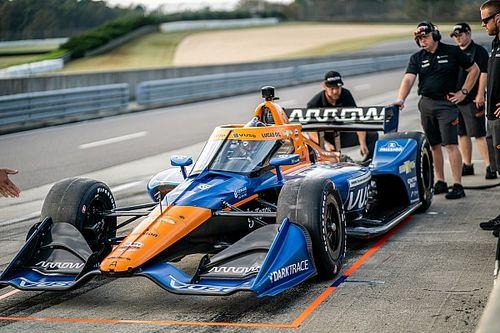Hulkenberg completa su primer test en IndyCar