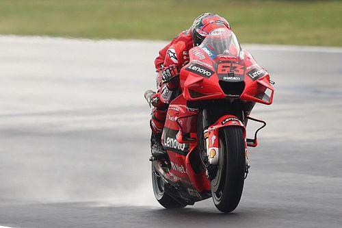 Ducati kettős siker a MotoGP időmérőjén, Quartararo csupán a 15.