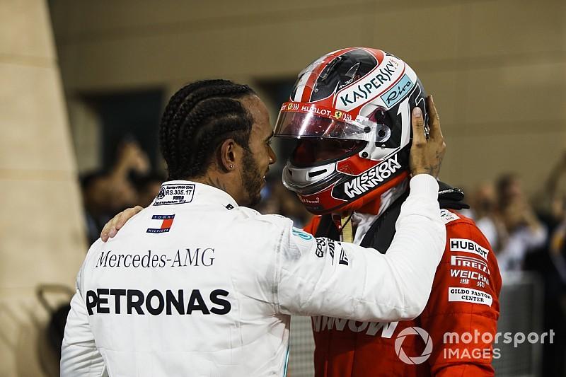 """Hamilton admits overtaking Leclerc """"felt weird"""""""