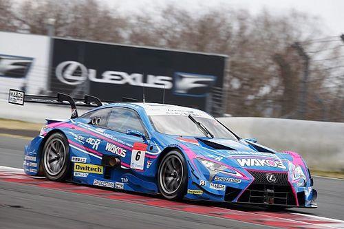 Lexus grabs top spot on final Super GT test day