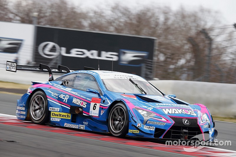 Lexus grabs top spot on final Super GT test day