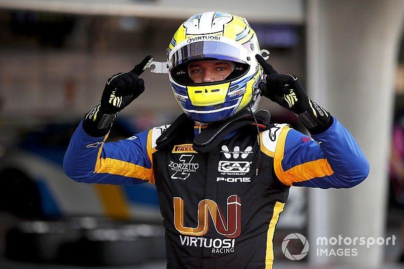 Ghiotto logra la primera pole de la F2 2019, Correa y Calderón en 12° y 19°