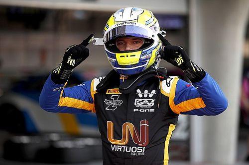 """Ghiotto: """"Iniziare il 2019 con la mia prima pole in F2 non potrebbe rendermi più felice"""""""