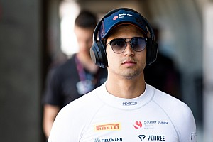 Correa stands for first time since Spa F2 crash