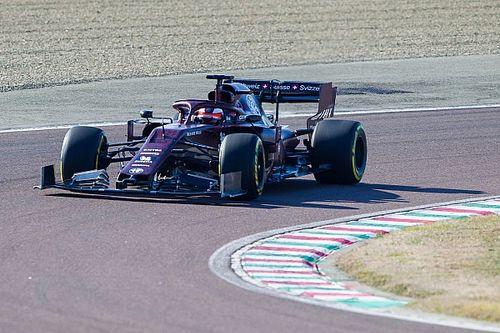 Fotogallery: l'Alfa Romeo Racing fa i primi giri sulla pista di Fiorano