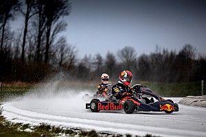 VIDEO Y GALERÍA: Verstappen y Gasly rompen el hielo