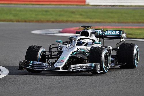 Bildergalerie: Erste Fahrfotos vom Mercedes W10 mit Bottas und Hamilton