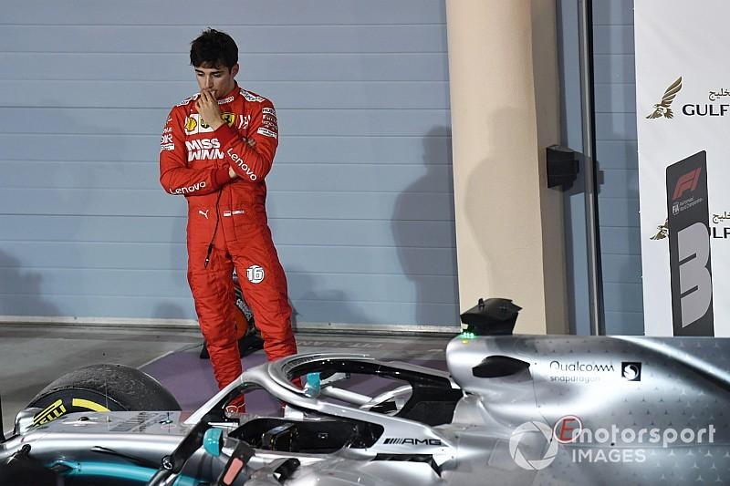 RÁDIOS: O desespero de Leclerc e as desculpas de Vettel no Bahrein