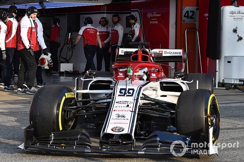 Giovinazzi, élément perturbateur pour Räikkönen ?