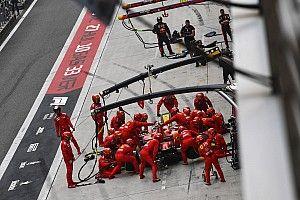 A szabályváltozásnak váratlan hatása van a Red Bull és a Ferrari bokszutcai munkájára