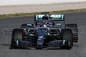 Mercedes привез масштабное обновление аэродинамики на вторые тесты Ф1