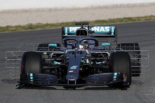 Mercedes introduz novo pacote aerodinâmico em segundo teste da F1