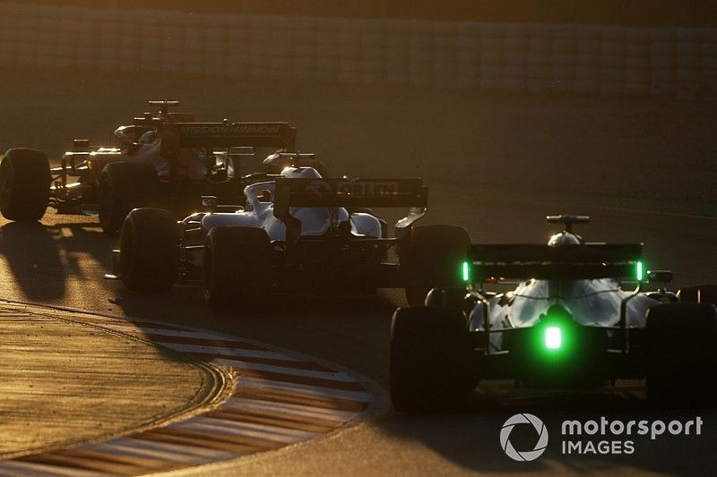 Why F1 cars have all gone size-zero