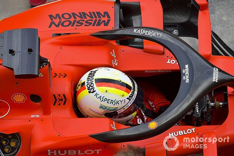 Vettel, testten mutlu ayrıldı