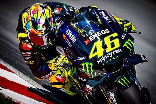 GALERI: Desain helm tes Valentino Rossi