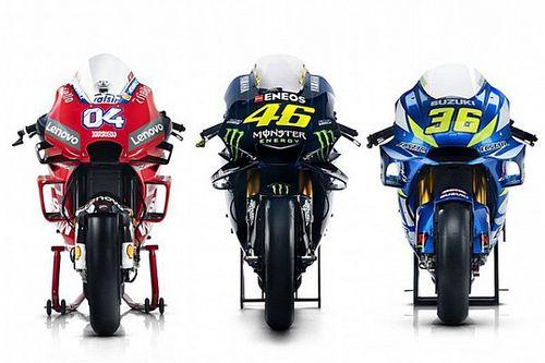 GALERÍA: estas son las motos y los pilotos de MotoGP para 2019