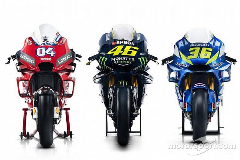 GALERIA: Fotos dos pilotos de MotoGP e suas motos para 2019