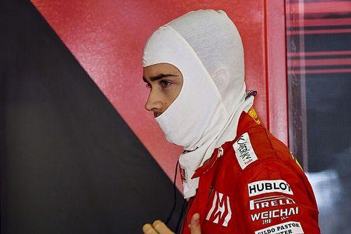 Leclerc no se sintió sacrificado por Ferrari