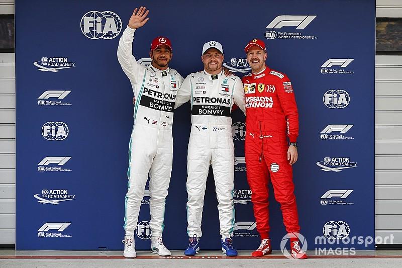 Hamilton a ragyogó Bottast méltatta a kínai időmérő után