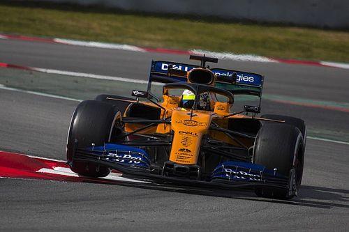"""McLaren, Norris: """"Bello girare senza problemi. Sainz? Batterlo non è il mio obiettivo dei test"""""""